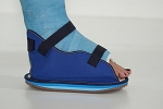 OSSUR Multi Blue Canvas Cast Shoe